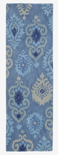 Luna Rug Runner, great for entryways and kitchens! LOVE