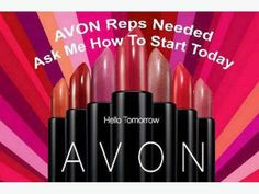I AM ALWAYS RECRUITING, earn extra money, set yours hours, work from anywhere, work online...why not you, why not now! www.youravon.com/clarose or go to www.startavon.com and use code clarose. Myself or your local area District Manager can help you where ever you are. Support is there to help you succeed.