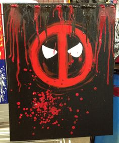 Deadpool By Momo Mel Stencils Pinterest Art