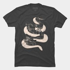 serpencity (outline) is a T Shirt designed by junillu to illustrate your life and is available at Design By Humans Charcoal Color, Outline, V Neck T Shirt, Tank Man, Long Sleeve Tees, Shirt Designs, Pullover, Illustration, Mens Tops