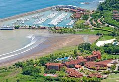 Los Suenos Marriott Ocean & Golf Resort North of Jaco. 60 miles from San Jose (SJO)-Juan Santa Maria Airport. This hotel does not provide shuttle service. Rent a car or Private Transportation; fee: 143 USD (one way) ;on request Estimated taxi fare: 143 USD (one way)