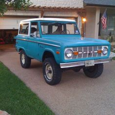 71 Bronco My Dream Car, Dream Cars, Early Bronco, Ford Pickup Trucks, Ford Bronco, Cool Trucks, Vroom Vroom, Broncos, Jeeps