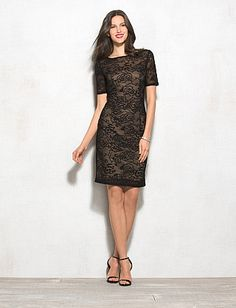 Lovely™ by Adrianna Papell Lace Dress