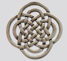 The Symbol of the Rightful One  It has the form of a celtic knot, composed of two St John's crosses (also known as the 'clover or eternity' knot). In the symbol, two eternity knots are interwoven - one large and one small. Symbolizing how the two worlds interact.