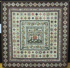 Karen Styles: Dear Jane on display Sampler Quilts, Appliqué Quilts, Dear Jane Quilt, Hanging Quilts, Civil War Quilts, Medallion Quilt, Contemporary Quilts, Antique Quilts, Couture