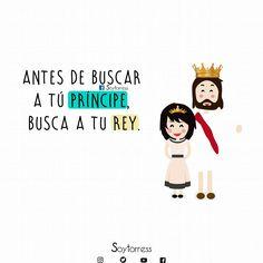 Amén, así es. Buscad primeramente el reino de Dios y si justicia, y todo lo demás vendrá por añadidura ❤