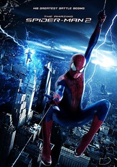 The Amazing Spider-Man 2   Looking forward to watch it finally ... :)   #movie #spiderman