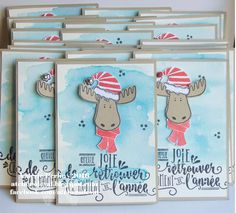 Les Ateliers de Val: Mes swaps pour la table ronde Stampin'Up! Christmas Card Crafts, Stampin Up Christmas, Christmas 2014, Holiday, Cards For Friends, Stamping Up, Stampin Up Cards, Creations, Paper Crafts