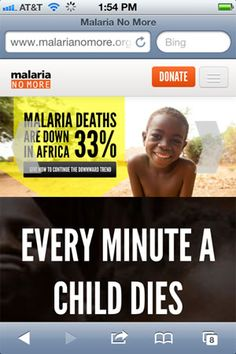 Great Examples of Non-Profit websites that use responsive design