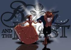 Bela_e_Fera__Disney__s_Beauty_and_the_Beast_by_SlamBoy.jpg 800×566 pixels