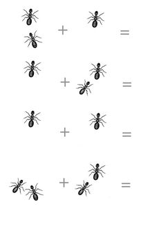 * Mieren tellen...