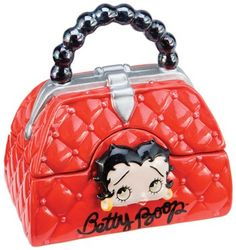 Betty Boop Purse Salt and Pepper Shaker Set Salt N Pepper, Salt Pepper Shakers, Betty Boop Purses, Betty Boop Pictures, Spice Things Up, Retro Fashion, Stuffed Peppers, Shoulder Bag, Cookie Jars