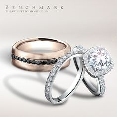 I love thee to the depth and breadth and height my soul can reach. #benchmarkrings #fashion #style #love #amazing #beautiful #gold #diamonds  #jewelry #wedding #weddingring #weddingband #engagement #engagementring #picoftheday