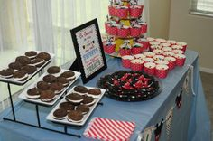 Sweets and Dessert Table Josh's 3rd Mickey Mouse Clubhouse Celebration | CatchMyParty.com
