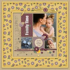 NEW RELEASE Family Time kit by Dandelion Dust Designs. On sale for a limited time, don't miss out! Green Paper, Scrapbook Kit, Family Traditions, Purple Gold, Word Art, Postage Stamps, Digital Scrapbooking, Dandelion, Frame