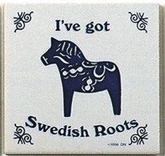 Swedish Culture Magnetic Tile (Swedish Roots)