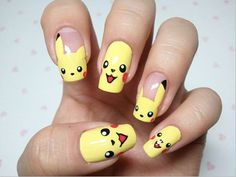 Nail Art - Pokemon