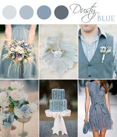 Grayish blue