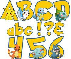 Pokemon Alphabet & Numbers