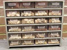 clever and attractive seed storage