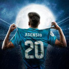 Asensio Real Madrid Wallpapers, Ronaldo Real Madrid, Football Soccer, Football Players, Asensio, James Rodriguez, Football Wallpaper, Sports Graphics, Cristiano Ronaldo