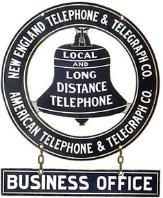 New England Bell Telephone Sign Printable Flower Pictures, Funny Ads, Office Signs, Vintage Telephone, Old Phone, Store Signs, Vintage Paper, Vintage Advertisements, Paper Goods