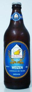 Cerveja Casa do Fritz Weizen, estilo German Weizen, produzida por Casa do Fritz, Brasil. 4.8% ABV de álcool.