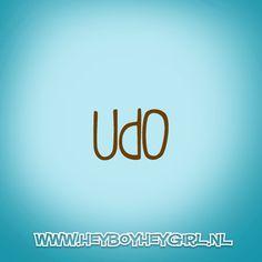 Udo (Voor meer inspiratie, en unieke geboortekaartjes kijk op www.heyboyheygirl.nl)