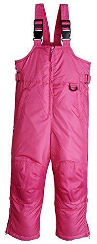 iXtreme Kids Unisex Insulated Ski Bib Snowpant Snowboard Snowsuit (4, Berry)