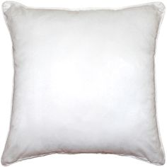 These generously sized pure white microsuede pillows are soft and durable and are finished with self piping on the seams. White Throws, White Throw Pillows, Bed Pillows, Pillow Inserts, Pillow Covers, Decorative Pillows, Living Spaces, Family Rooms, Pure Products