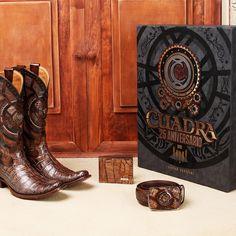 a4086c4547  CUADRA25Aniversario  CUADRA  Botas  Boots  Alligator  leather  Vaqueras  Botas Cuadra