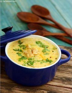Gatte ki Kadhi, this dish is made using a yoghurt based gravy and dry masalas to create a mouth-watering recipe. Just before serving, add the prepared gattas to the kadhi.
