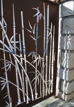 Exceptionnel portail bambou … | Pinteres… VA99