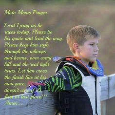 Moto moms prayer. Mx. Dirtbike.