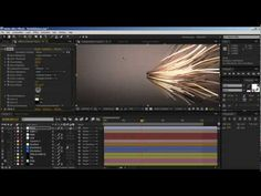 After Effects - Creating Particle Lines In After Effects - Tootorials - YouTube