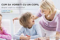 Daca pana in momentul in care copilul dumneavoastra va trebui sa mearga la gradinita nu a intalnit nici o persoana cu dizabilitati, cu sigurata acesta este momentul potrivit pentru a purta o discutie in aceasta privinta -   http://www.i-medic.ro/copilul/copilul-4-12-ani/copii-cu-nevoi-speciale/cum-sa-vorbiti-cu-un-copil-despre-copiii-cu-dizabilitati