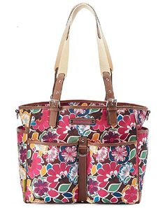 Lily Bloom Maya Tote Bag (Firework Floral)