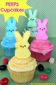 PEEPS Cupcakes!