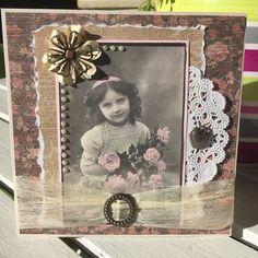 #cards #kaisercraft #papers #creative #vintage #art #arte by bataviablue