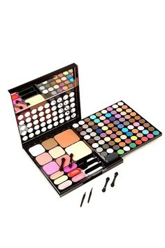 The All I've ever wanted Box from NYX...72 eye shadows, 8 face colors, 6 lip colors, 4 blushes, etc....