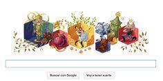 El Cascanueces de Chaikovski hecho #doodle por #navidad