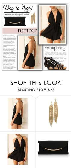 """""""Romper Dress - MaxFancy"""" by maxfancy ❤ liked on Polyvore featuring Capwell + Co, Carvela Kurt Geiger and polyvoreeditorial"""
