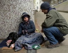 love the poor and homeless