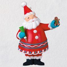 Sweet Santa Exclusive Ornament - Keepsake Ornament Club - Hallmark $17.99