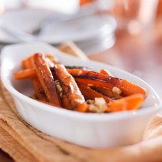 Side Dish Recipe: Maple-Glazed Carrots With Crunchy Walnuts