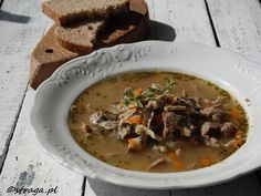 Flaczki drobiowe Thai Red Curry, Beef, Ethnic Recipes, Food, Meal, Essen, Hoods, Ox, Meals