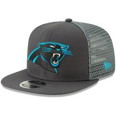 Men s Carolina Panthers New Era Graphite Mesh Fresh 9FIFTY Adjustable Snapback  Hat ca5208096