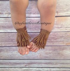 Barefoot sandals fringe barefoot sandals by Sofiasthreadboutique