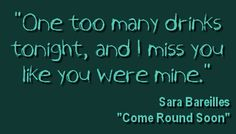 Come Round Soon -- Sara Bareilles