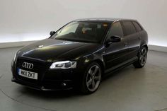 Used 2011 (11 reg) Black Audi A3 2.0 TDI Black Edition 5dr [Start Stop] - HALF LEATHER - XENONS - BLUETOOTH for sale on RAC Cars